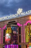 Friedrichstadt Palast at night — Stock Photo