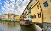 Old Bridge in Florence — Stock Photo