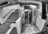U-bahn subway station — Stock Photo