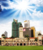 Merdeka Square, Kuala Lumpur. — Stock Photo