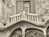 Casa Batllo Facade. The famous building — Stock Photo