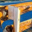 Rusty Guard Rail — Stockfoto #53624461