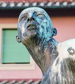 Livorno The four moors landmark — Stock Photo