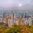 Panoramic view of Hong Kong from Victoria Peak — Stock Photo #53633203