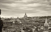 Aerial view of the ancient city Rome — Foto de Stock