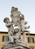 Cherub statue — Stock Photo