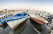 Old wooden boats — Stock Photo