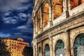 Beautiful view of Colosseum, Rome landmark — Stock Photo