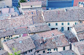 Улицы и здания Сан-Марино — Стоковое фото