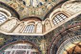 Interior of Neonian Baptistery in Ravenna, Italy — Stock Photo