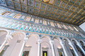 Byzantine UNESCO listed mosaic — Stock Photo