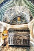 Ceiling Mosaic of the Galla Placidia mausoleum — Stock Photo