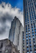 Cityscape of Manhattan — Stock Photo