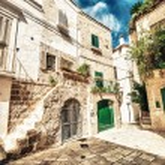 Quaint village of Apulia — Stock Photo #55204473