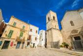 Wonderful quaint village of Polignano a Mare — Stock Photo