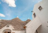 Unique quaint Alberobello — Stock Photo