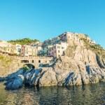 Manarola, Five Lands. Cinque Terre, Italy — Stock Photo #55544277