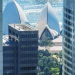 Sydney aerial cityscape - Australia — Stock Photo #55548317