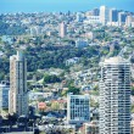 Sydney aerial cityscape - Australia — Stock Photo #55548345