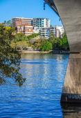 Cityscape of Brisbane — Stock Photo
