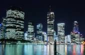 Brisbane skyline at night — Stock Photo