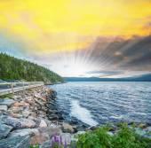 Coast of Quebec, Canada — Stock Photo