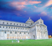 Pisa, Tuscany. Stunning view of Cathedral in Square of Miracles. — Stock Photo