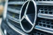 Mercedes Benz Sign — Stock Photo