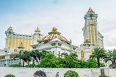 Wonderful modern structure of city casinos — Stock Photo
