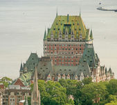Magnificent  Quebec Castle — Stockfoto