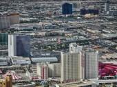 LAS VEGAS - City aerial skyline — Stock Photo