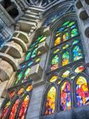 La Sagrada Familia, the cathedral interior — ストック写真
