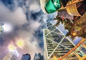 Hong Kong downtown skyline — 图库照片