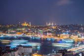City night panorama — Stock Photo