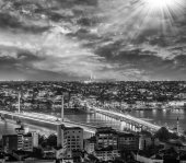 Panorama from Galata Tower — Stock Photo