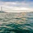 Bosphorus Bridge from cruise ship — Stock Photo #57588497