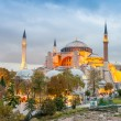 Hagia Sophia at dusk — Stock Photo #57591311