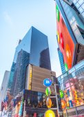 NEAds and buildings of Times Square — Stock Photo