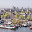 Постер, плакат: Amsterdam Wonderful view of city