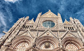 Cathedral - Duomo in Siena — Stock Photo