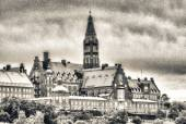 Stockholm Old City view, Gamla Stan — Stock Photo