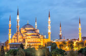 View of Blue Mosque - Istanbul — Стоковое фото