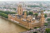 ビッグベンとウェストミン スター宮殿、ロンドン — ストック写真
