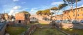 Nero Baths ruïnes in het centrum — Stockfoto