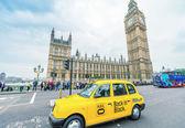 Traffic in Westminster area — Zdjęcie stockowe