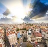 Magnifique paysage urbain d'istanbul — Photo