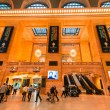 Commuters and tourists in the grand central station — Stock Photo #60112021