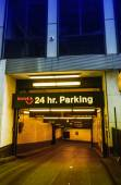 24 hours parking in New York City. — Stock Photo