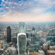 City business center skyscrapers — Stock Photo #60792799