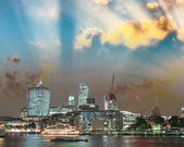 Center skyscrapers London — Stockfoto